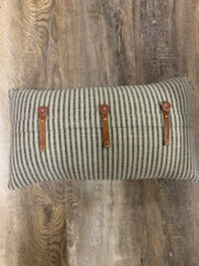 "20"" x 12"" Striped Pillow"