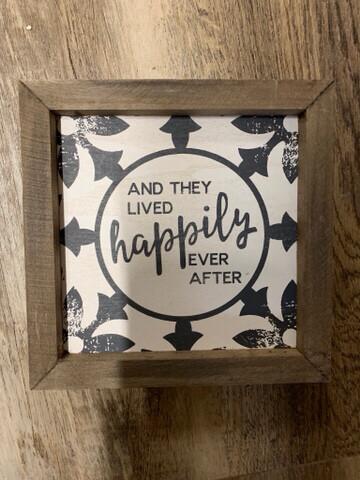 Happily...