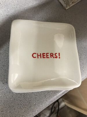 Cheers Plate-Final Clearance