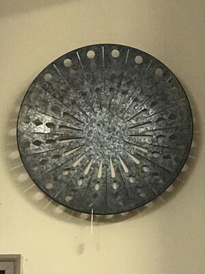 Round Metal Lg