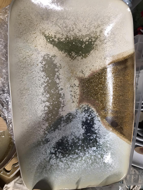 Oblong Stoneware Plate