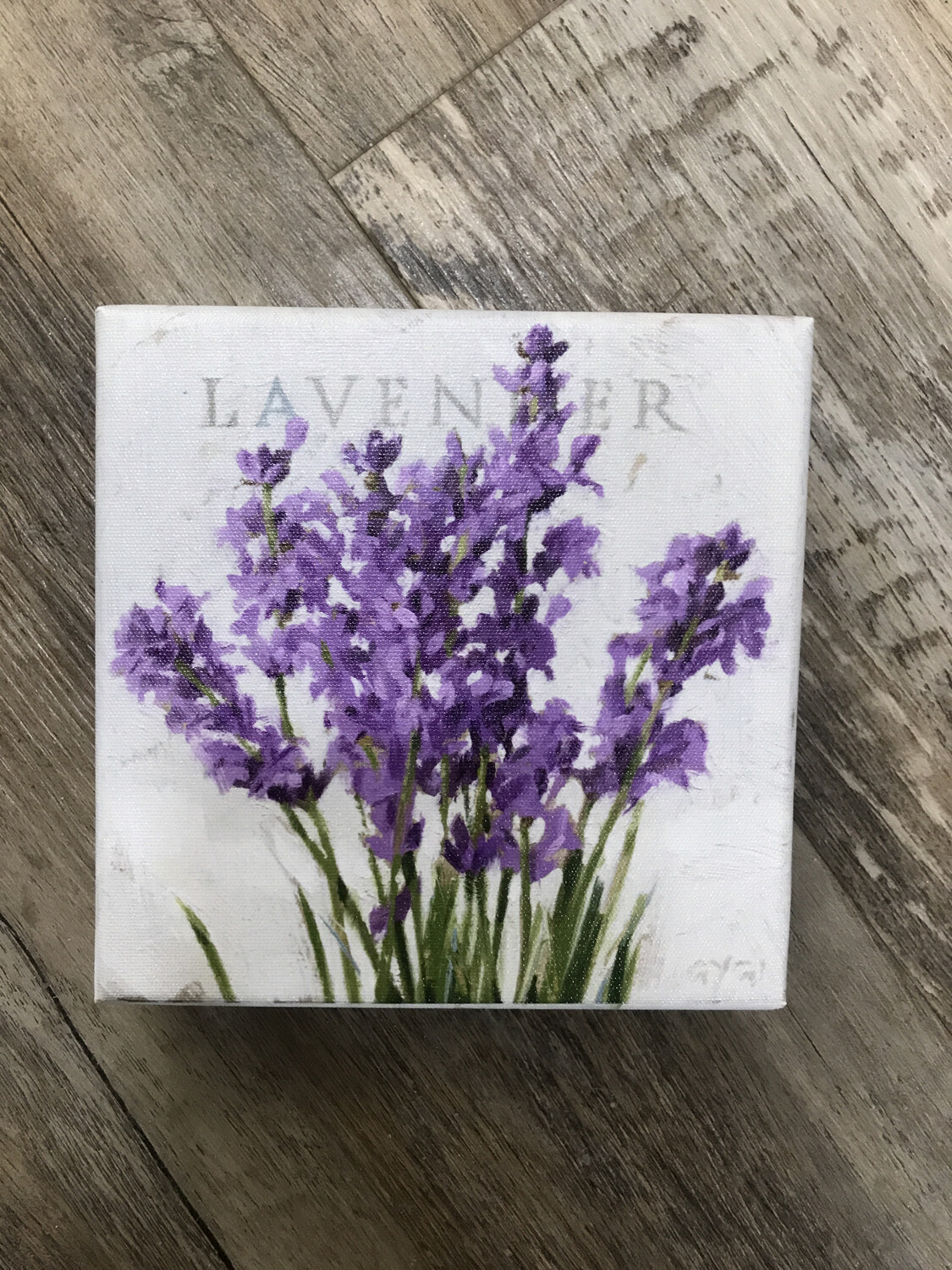 Giclee Canvas Lavender