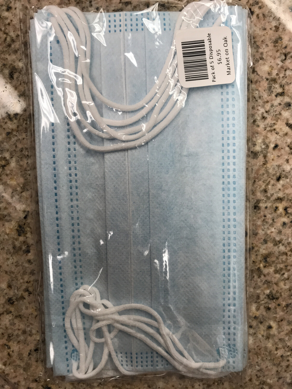 Pack of 5 Disposable