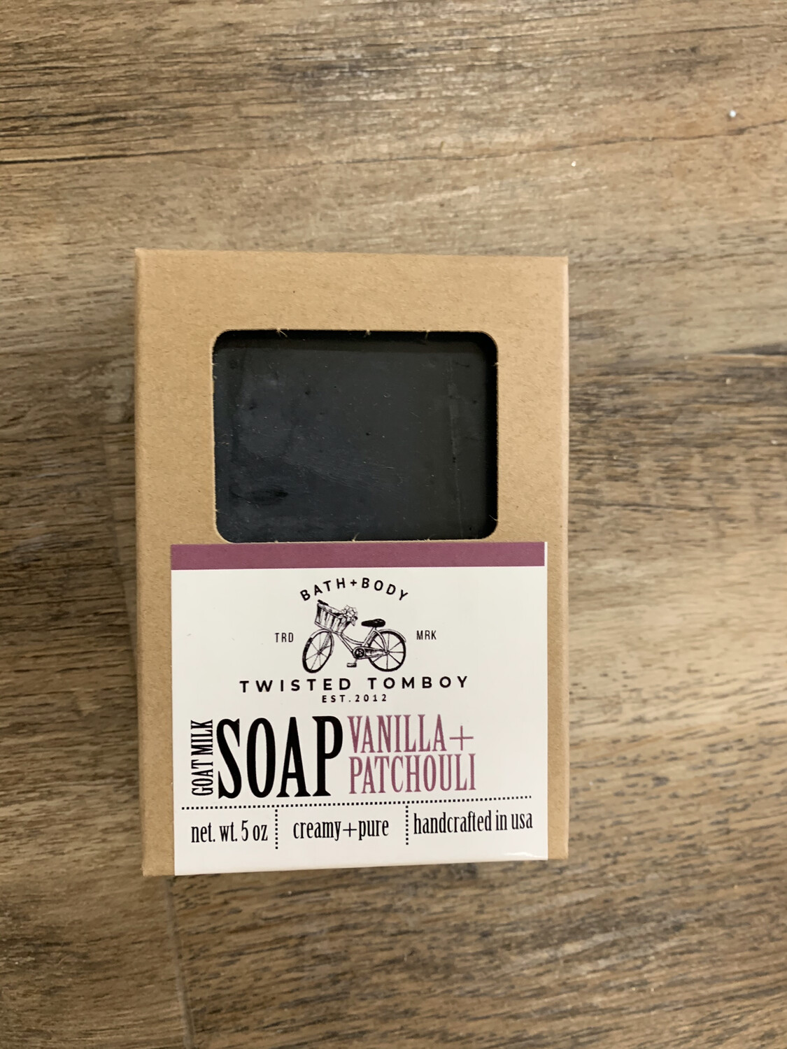 Vanilla+Patchouli Goats Milk Soap