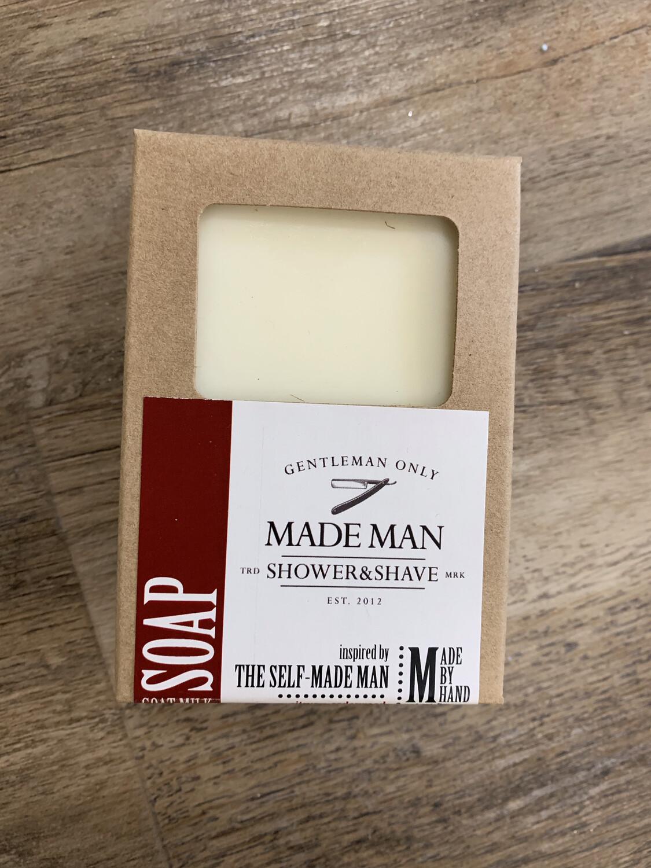 Manly Cedarwood+Citrus Soap