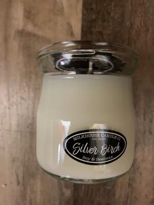 Silver Birch Cream Jar
