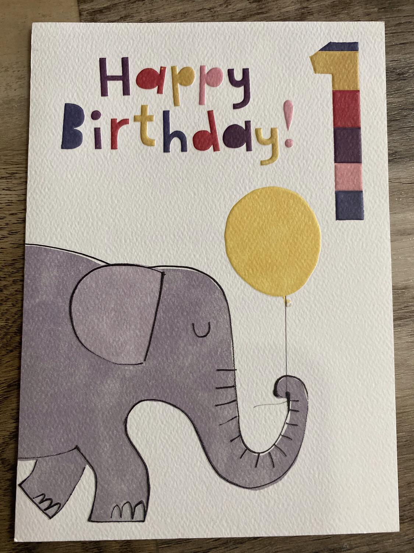 Elephant One Card