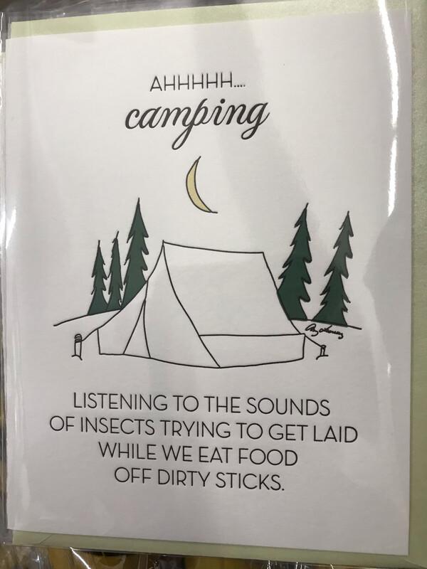Ahhhh Camping