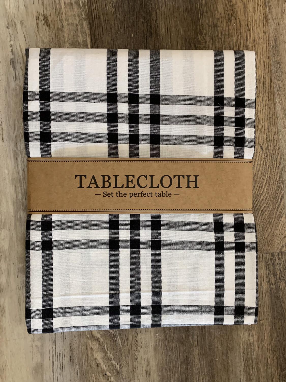 Homestead Plaid Tablecloth