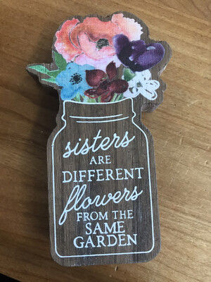 Sister Jar Cutout