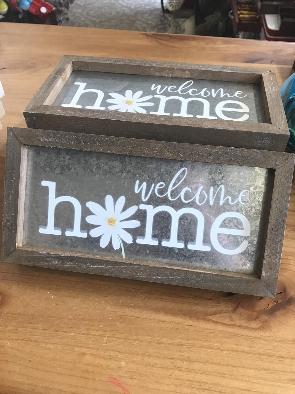 Welcome Home Galvanized