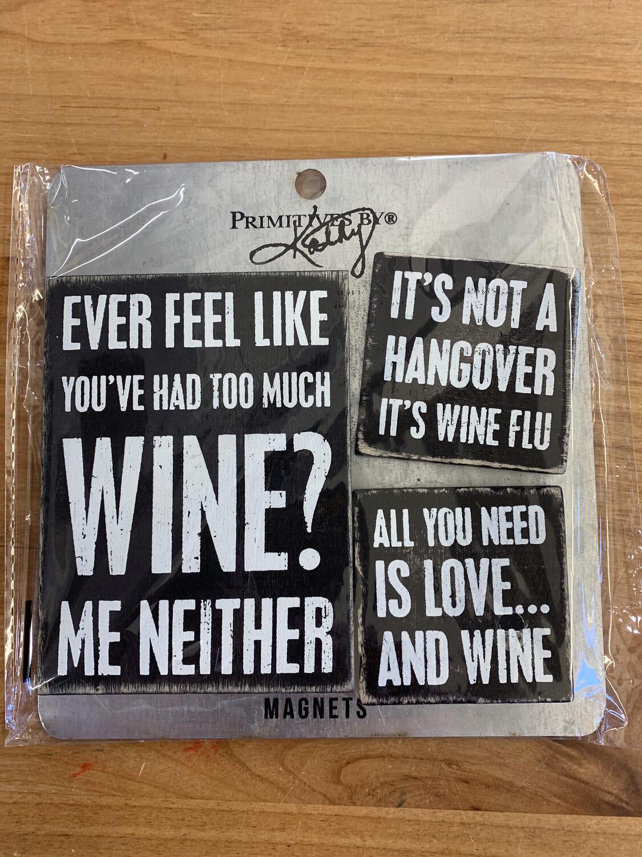 Wine Memo Holder Set