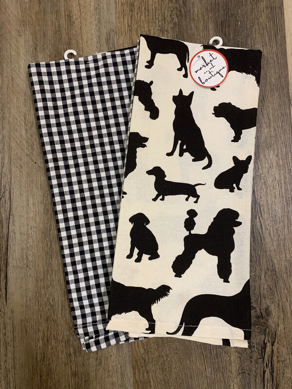 Dog Show Dishtowel Set