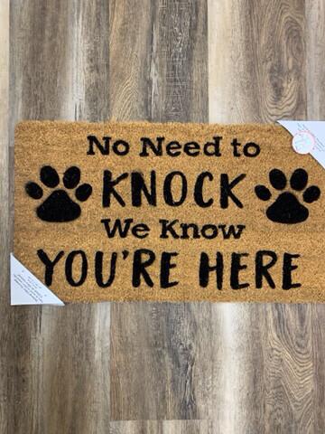 Dog Coir Door Mat