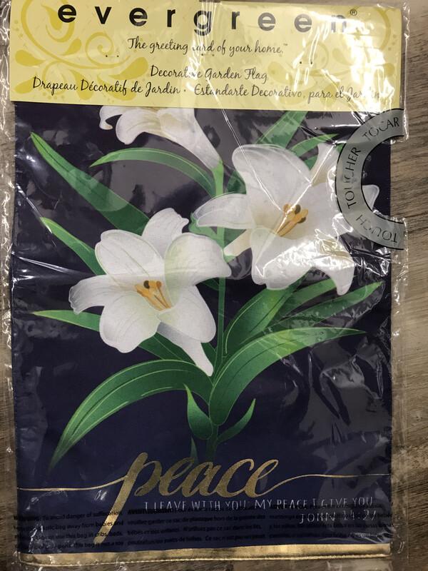 Easter Lily Garden Flag