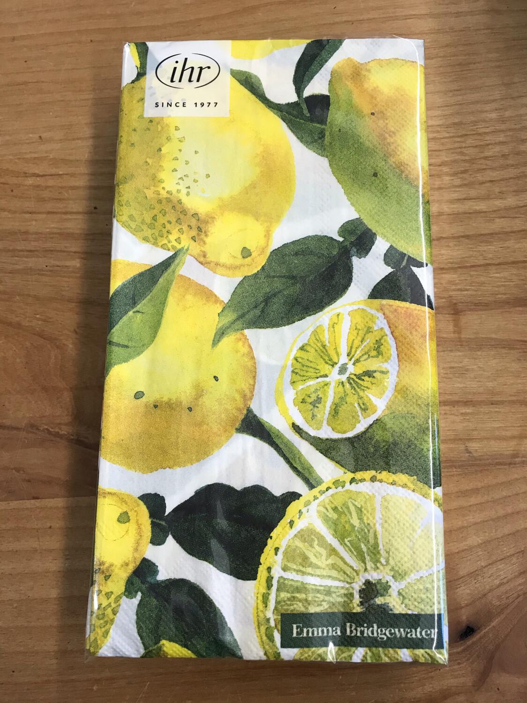 Lemon Guest Towel