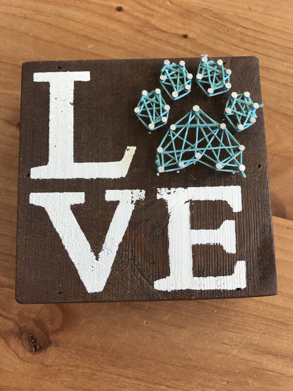 Pet Love String Art