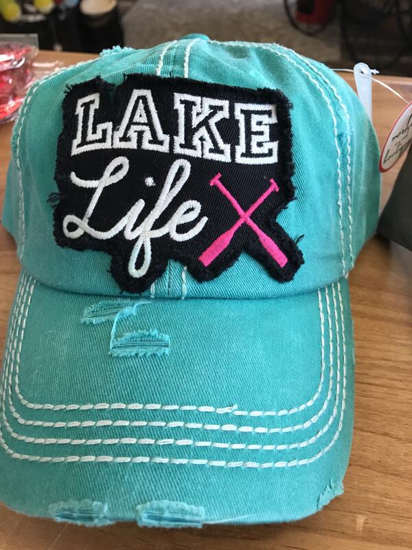 Embroidered Lake LIfe