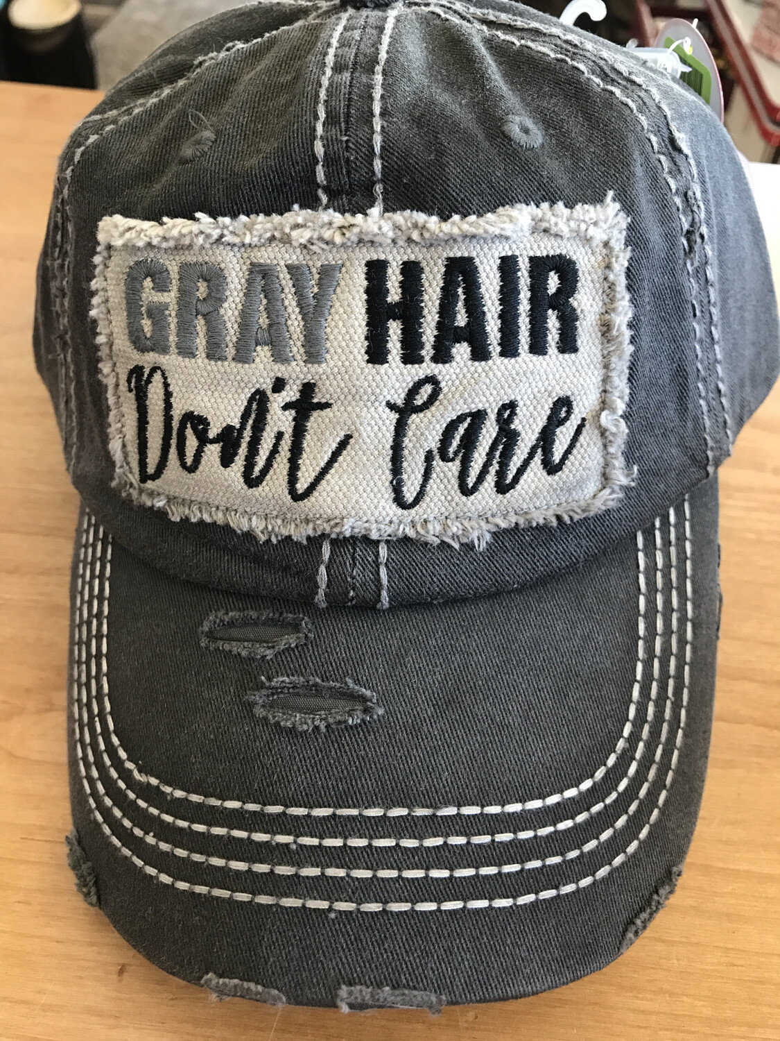 Grey Hair Don't Care