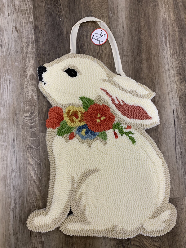Hooked Floral Bunny