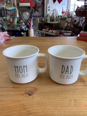 Estab 2021 Mug