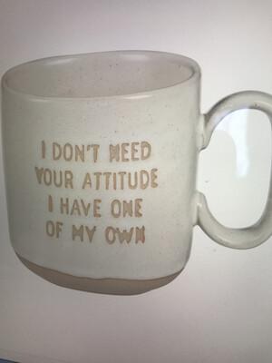 Attitude Stoneware Mug