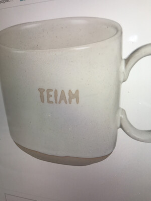 I in TEAM Stoneware Mug