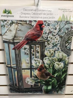 Cardinals & Dogwoods Flag