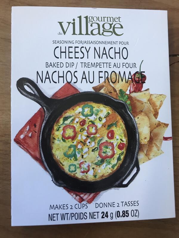 Cheesy Nacho Dip Mix