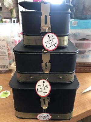Matte Black Nesting Box