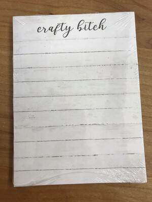 Crafty Bitch Notepad
