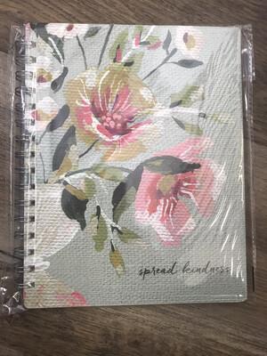 Spiral Kindness Notebook