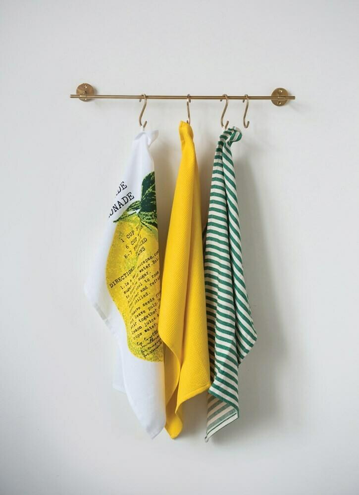 Set/3 Lemony Dishtowels