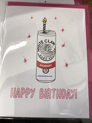 White Claw Birthday