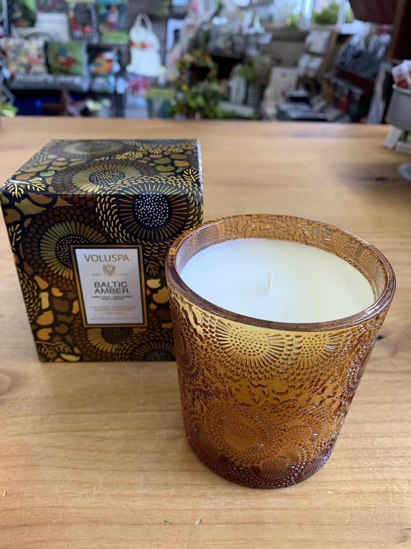 Baltic Amber 9oz Jar Candle