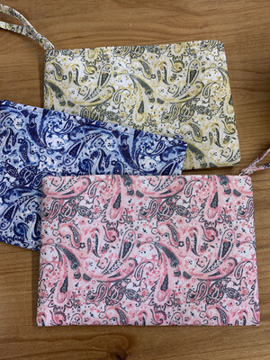 Fun Paisley Zipper Pouch