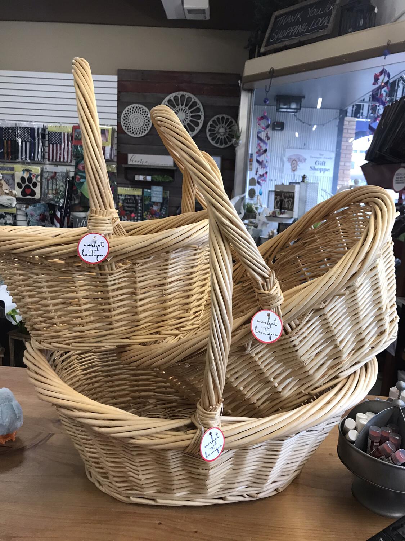 Curved Handle Basket