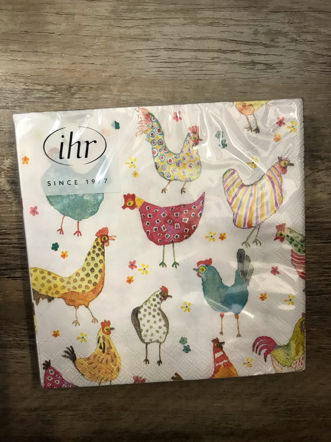 Funky Chicken Cocktail Napkins
