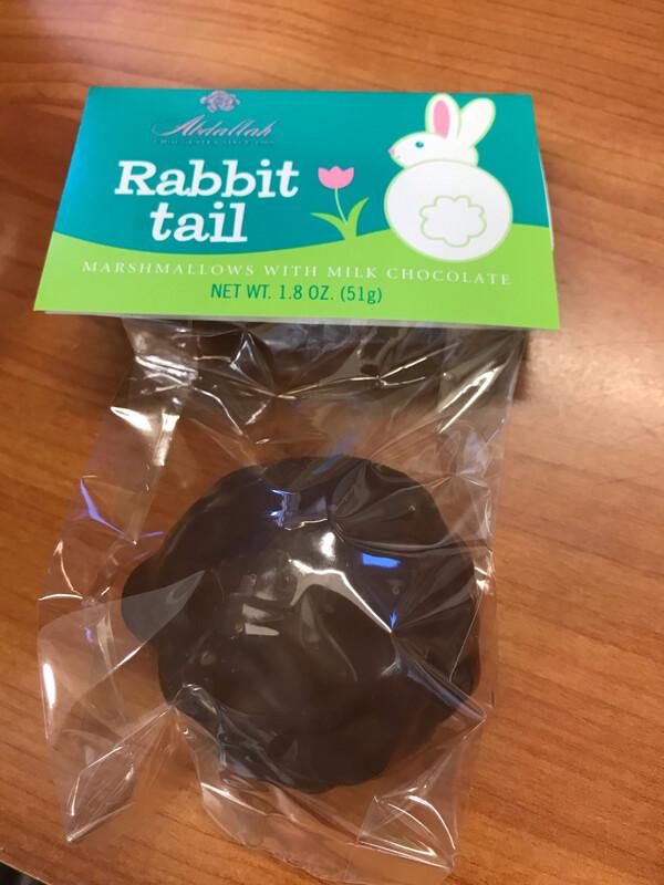 1.8oz Marshmallow Bunny Tail