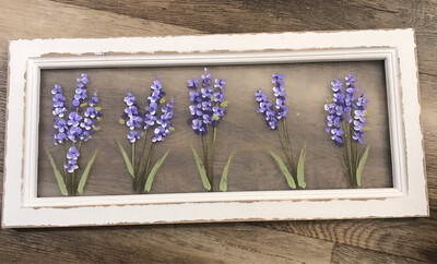 Handpainted Lilac Screen 20