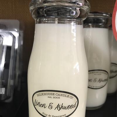 Linen & Ashwood Milk Bottle