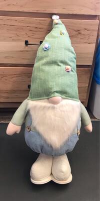 """36"""" Standing Plush Gnome w/Overalls"""