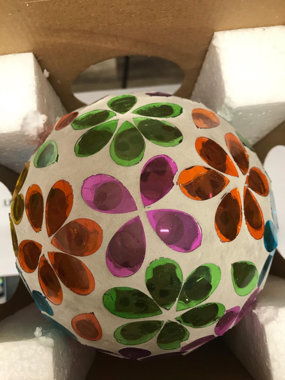 "6"" Glass Gazing Ball"