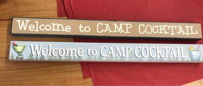 Camp Cocktail Brown Skinny