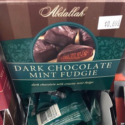 Dark Choc Mint Fudgie