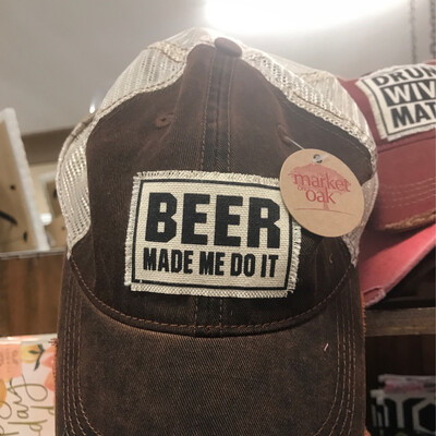 Beer Made Me