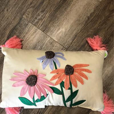 Wildflower Lumbar Pillow