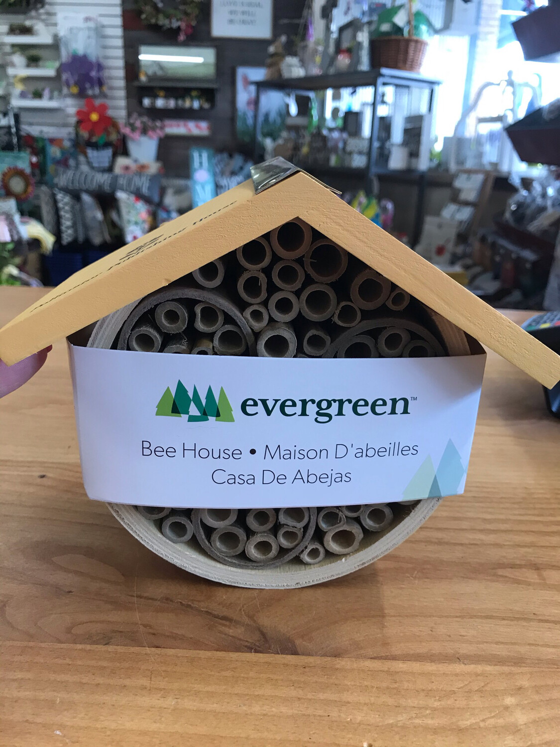 """8"""" Open Book Bee House"""