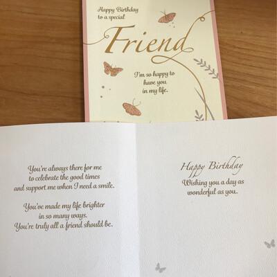 Special Friend Butterflies