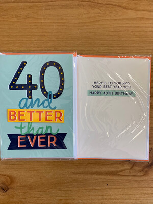 40 & Better Than Ever